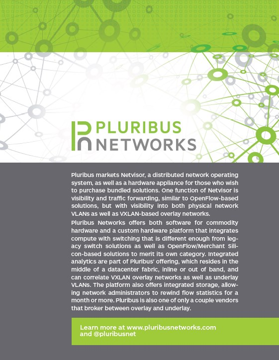 PluribusNetworks CoverPage